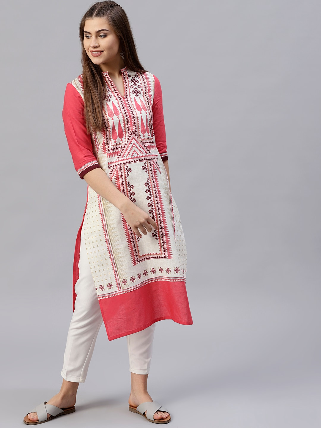 57cf557dd1d Cotton Kurtas - Buy Cotton Kurta Online in India