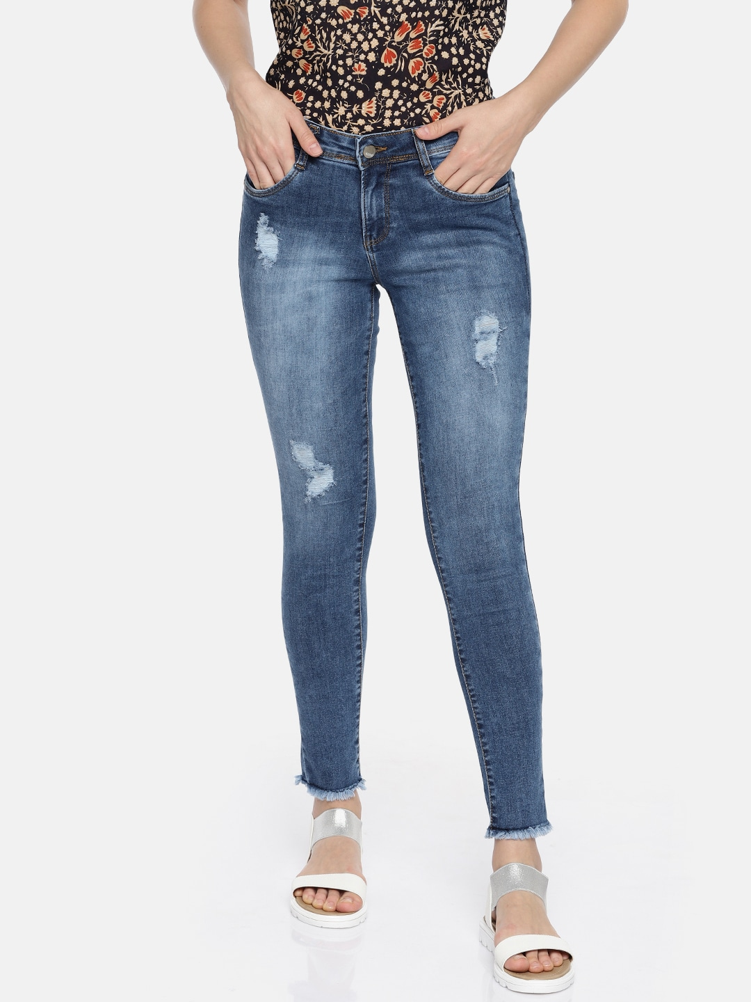 8e3850626f Women No Wash Jeans - Buy Women No Wash Jeans online in India