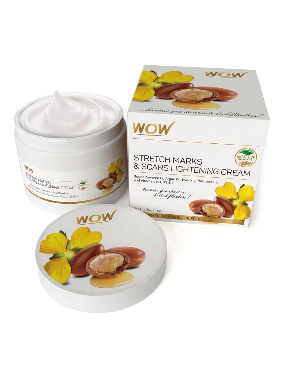 WOW SKIN SCIENCE Unisex Stretch Marks & Scar Lightening Cream 200 ml
