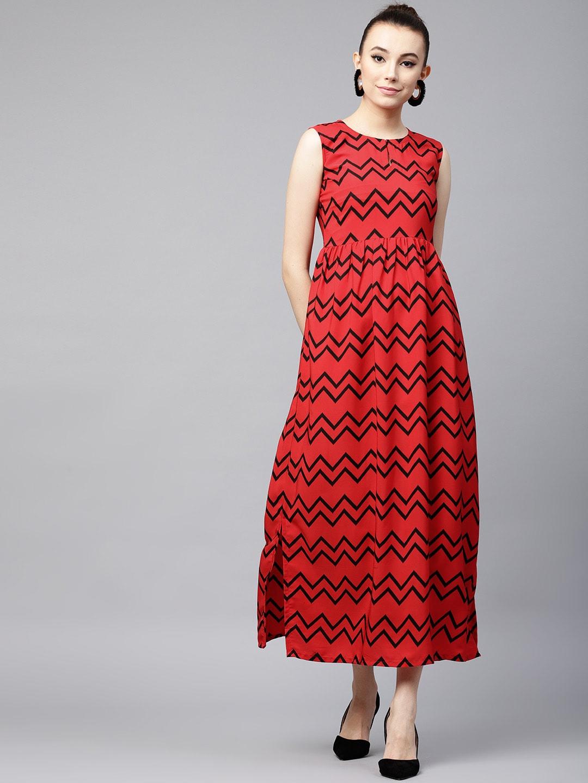 8441b4b7533 Red Printed Dresses Tops Dress Material - Buy Red Printed Dresses Tops Dress  Material online in India