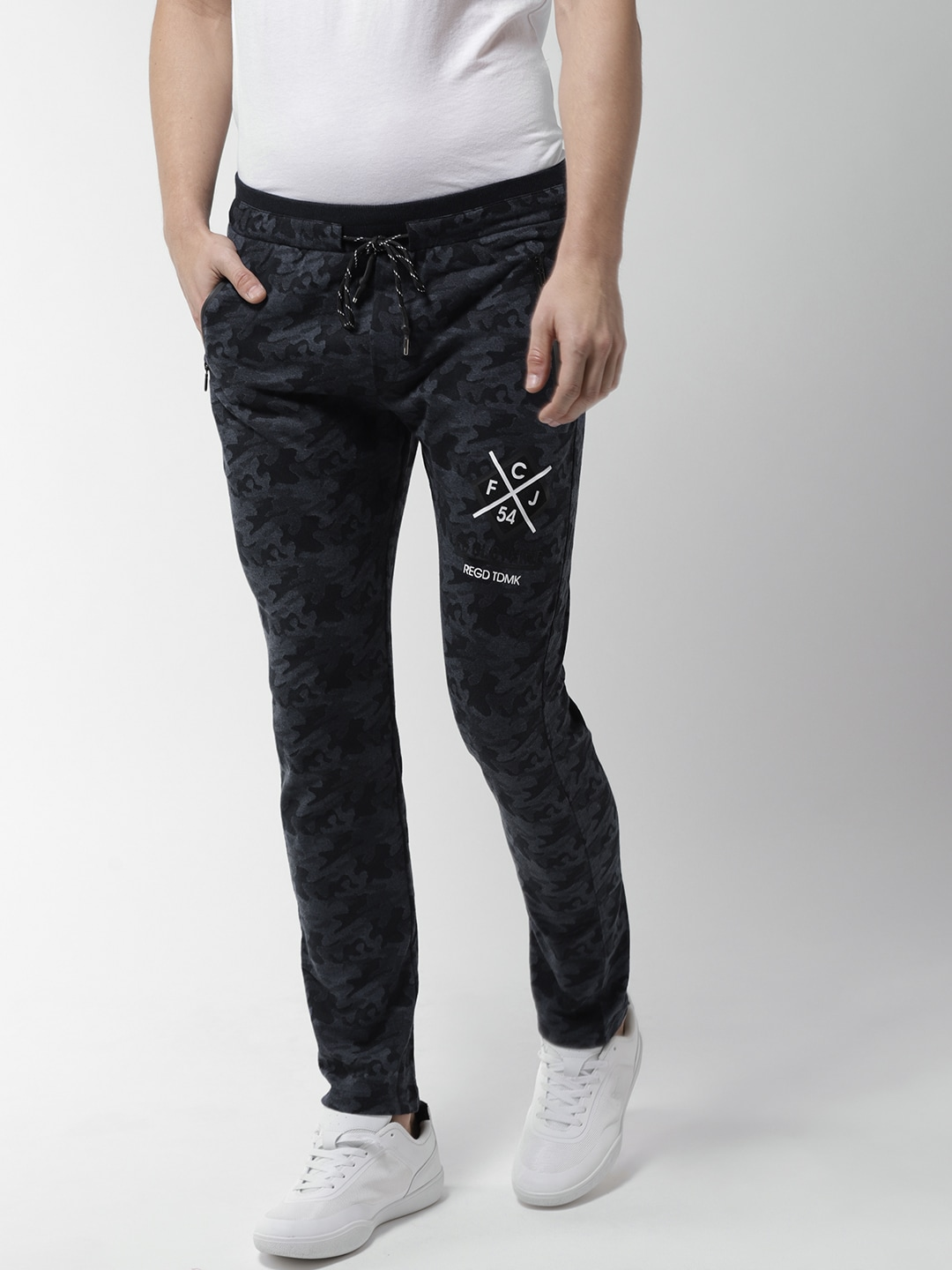 cf565b87154 Sports Navy Blue Blue Track Pants Pants - Buy Sports Navy Blue Blue Track  Pants Pants online in India