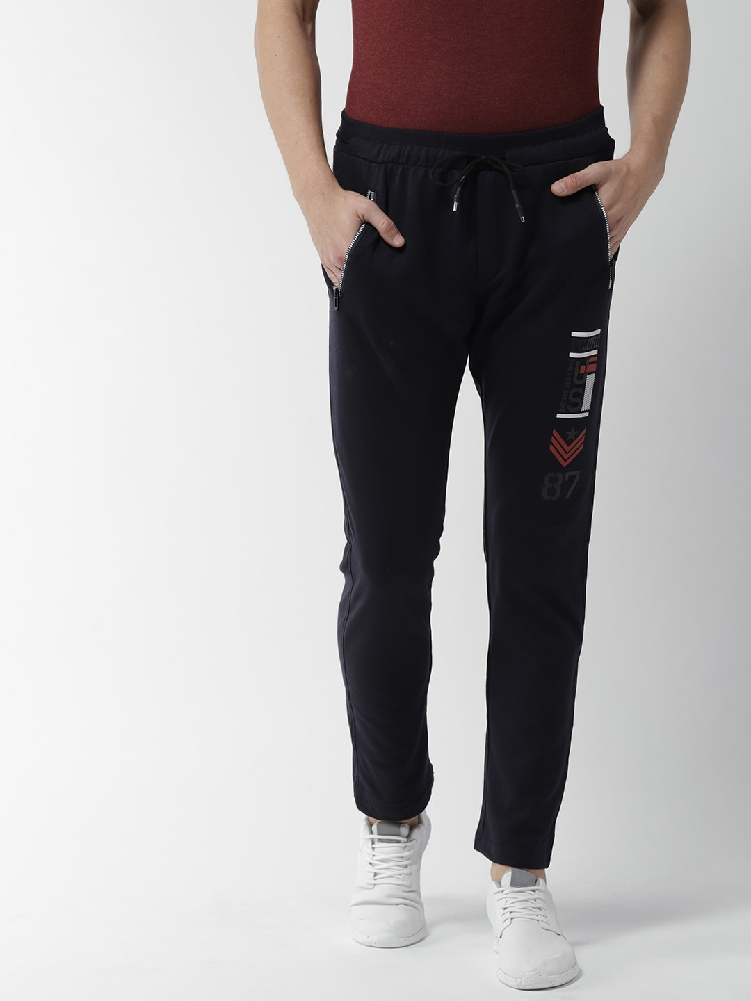 0c4d688f8db Blue Track Pants - Buy Blue Track Pants Online in India
