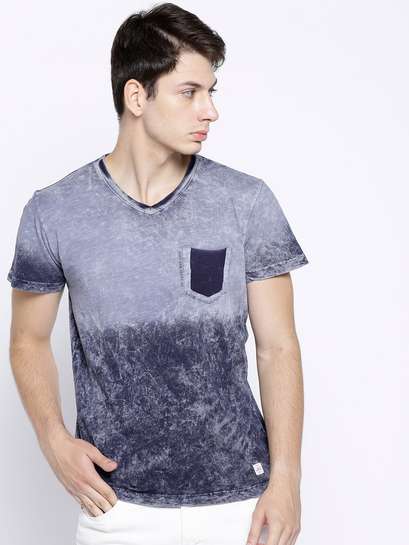 e673f70bfdb0 Men Blue Tshirt Innerwear Vests - Buy Men Blue Tshirt Innerwear Vests  online in India
