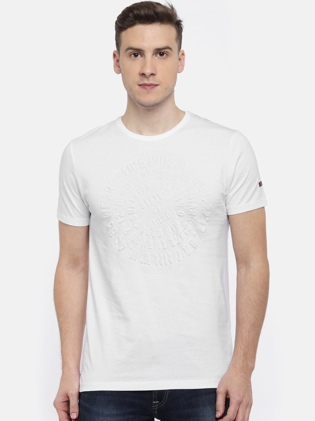 85f53dbcba69c Buy Being Human T-Shirts Online For Men At Myntra