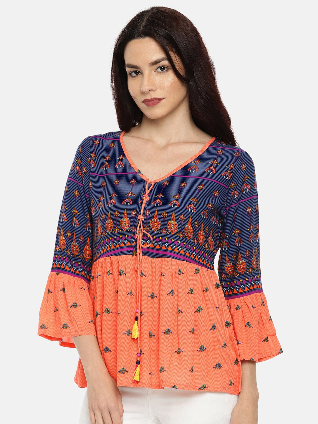 7c2cc95c17e22e Coral Tops - Buy Coral Tops online in India