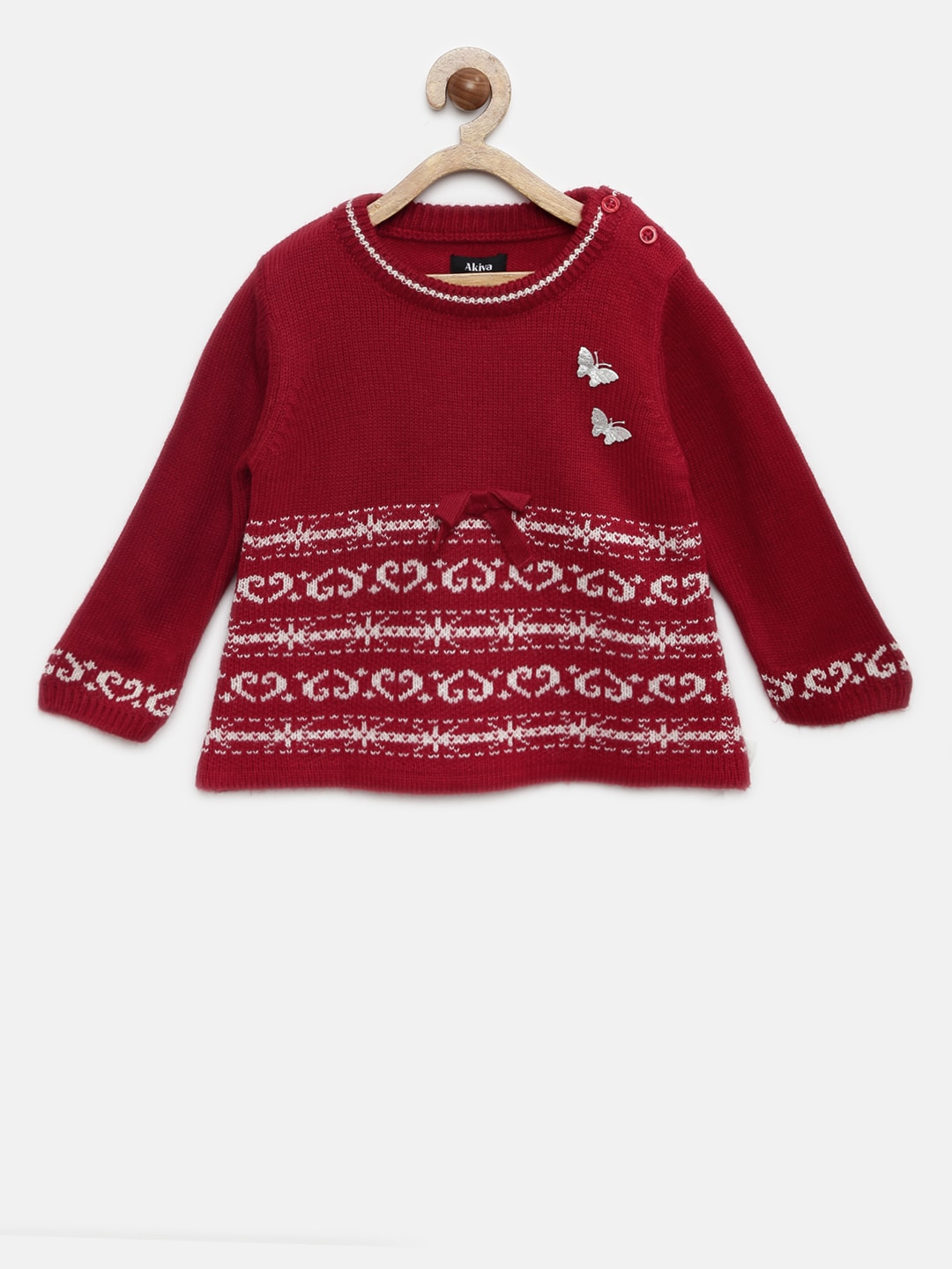 88a634977ae Girl s Sweaters - Buy Sweaters for Girls Online in India