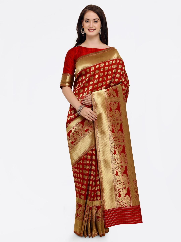 dcd17be19 Banarsi Saree - Authentic Banarsi Sarees Online - Myntra