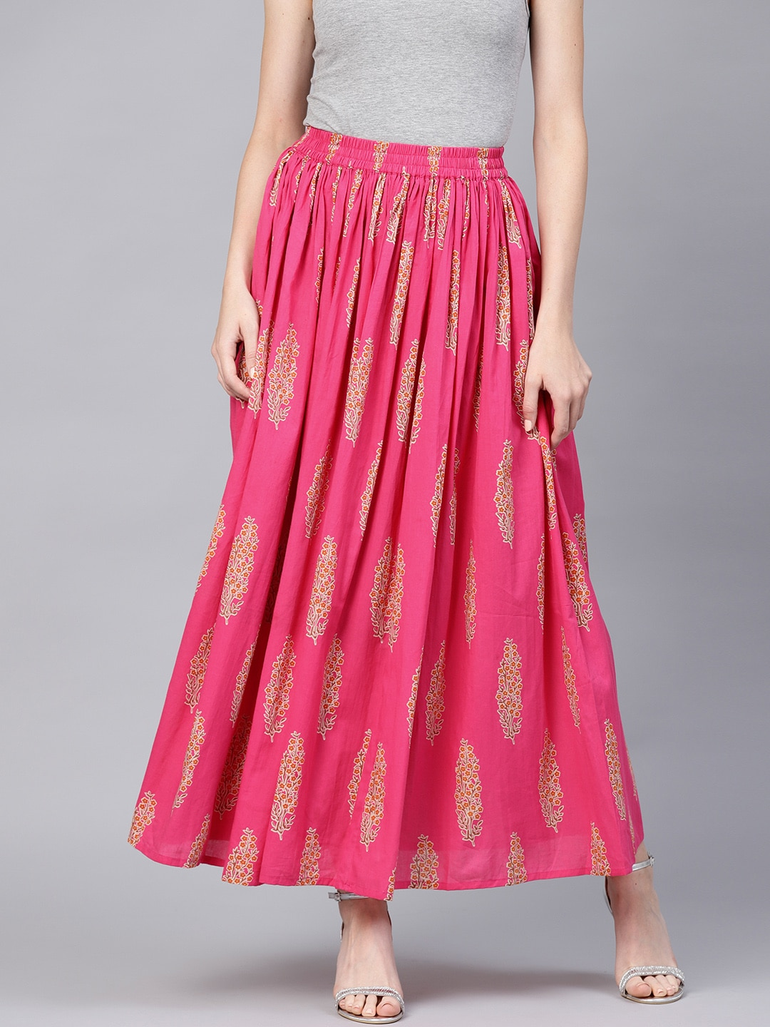 6a9270ff0 Indian Ethnic Skirts Online Shopping | Saddha