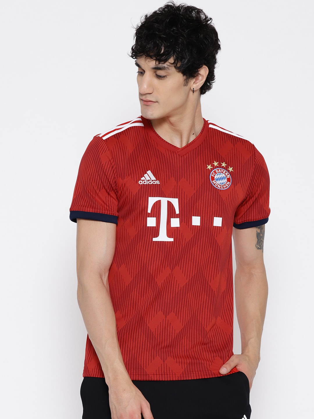 c6cf7651443 Adidas Sports Jersey - Buy Adidas Sports Jersey online in India