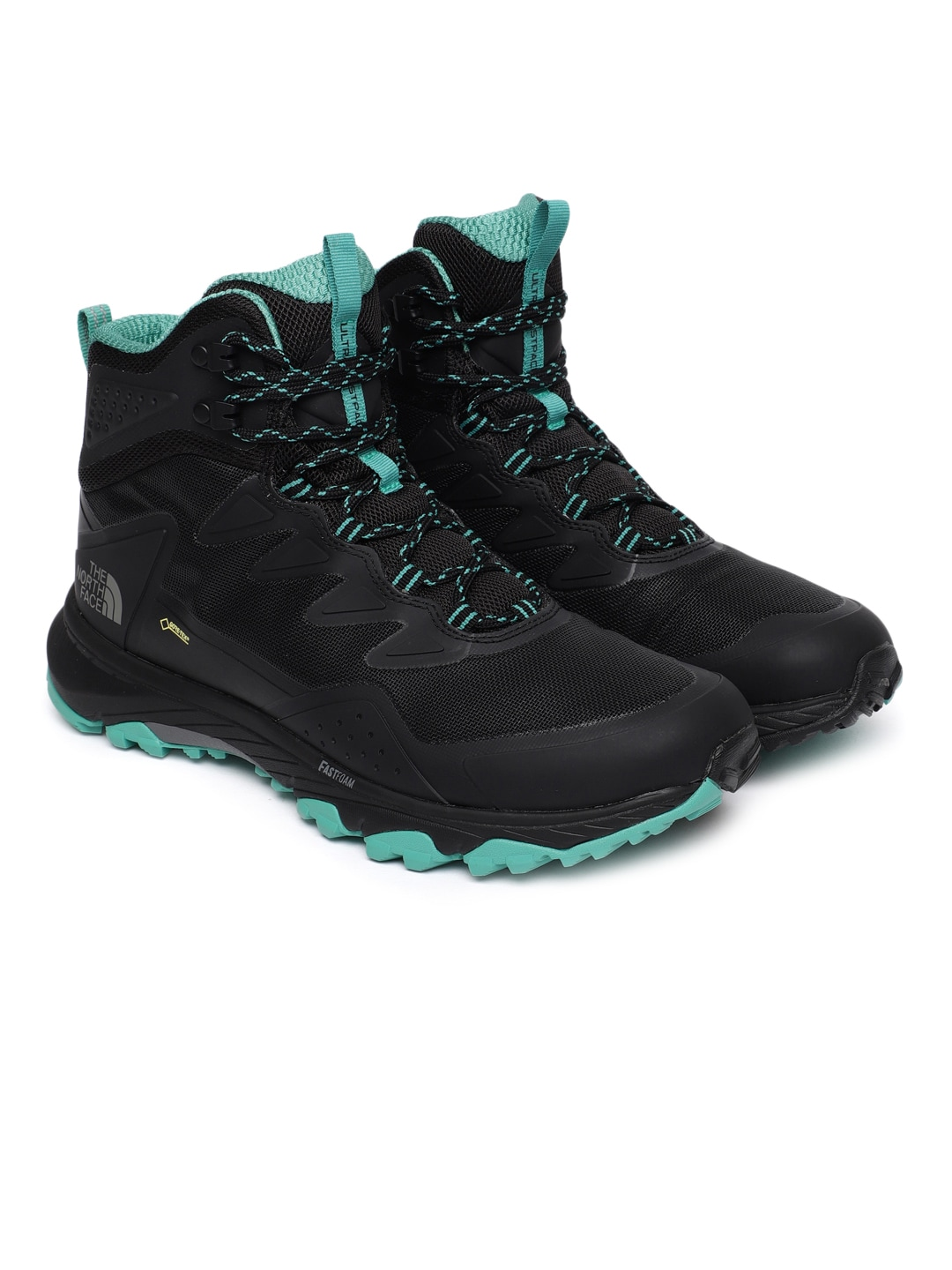 aa1fc85afd5 The North Face Women Black ULTRA FASTPACK III MID GTX Trekking Shoes