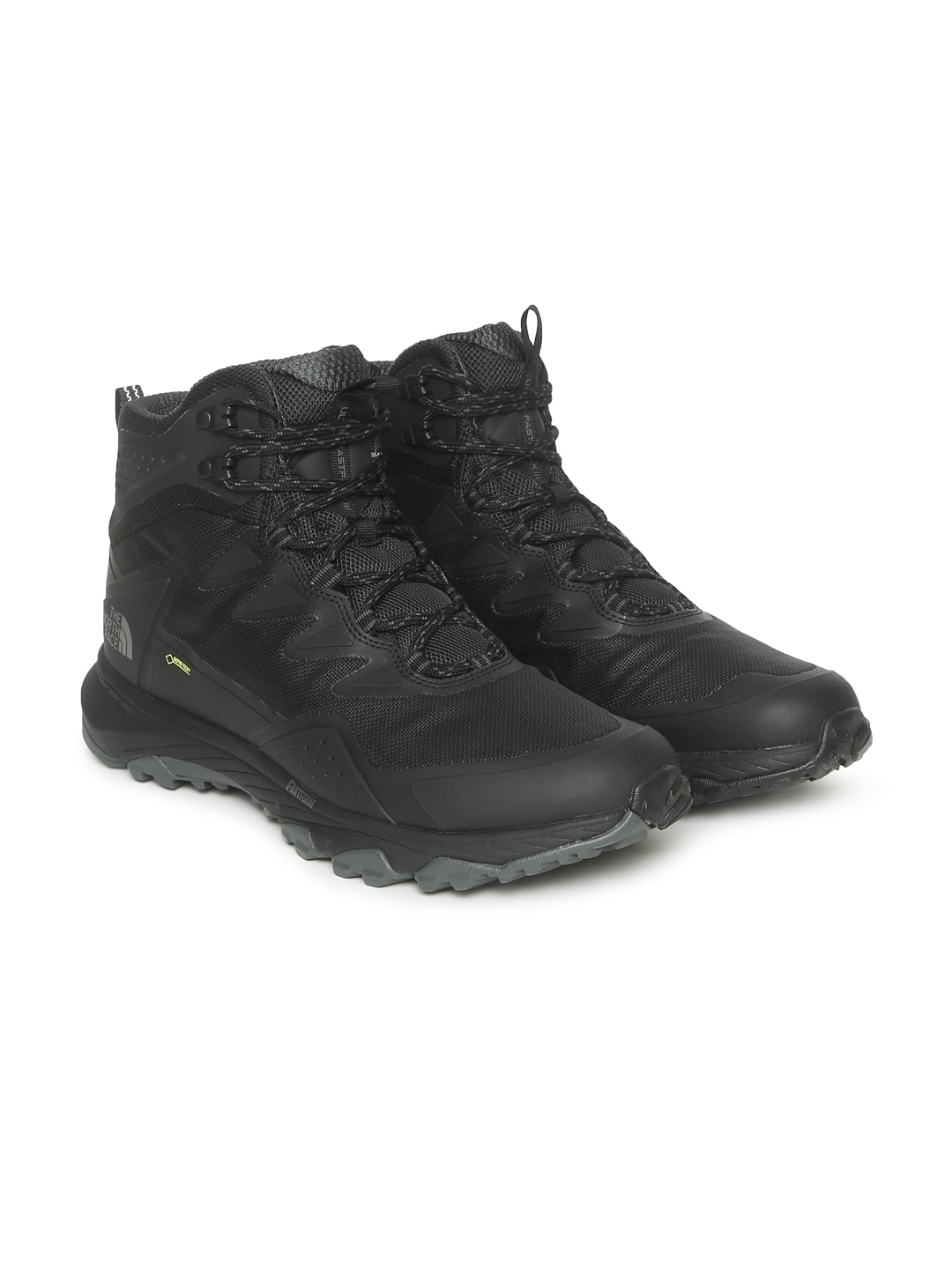 7859cb19a The North Face Men Black Solid Ultra Fastpack III GTX High-Top Waterproof  Hiking Boots