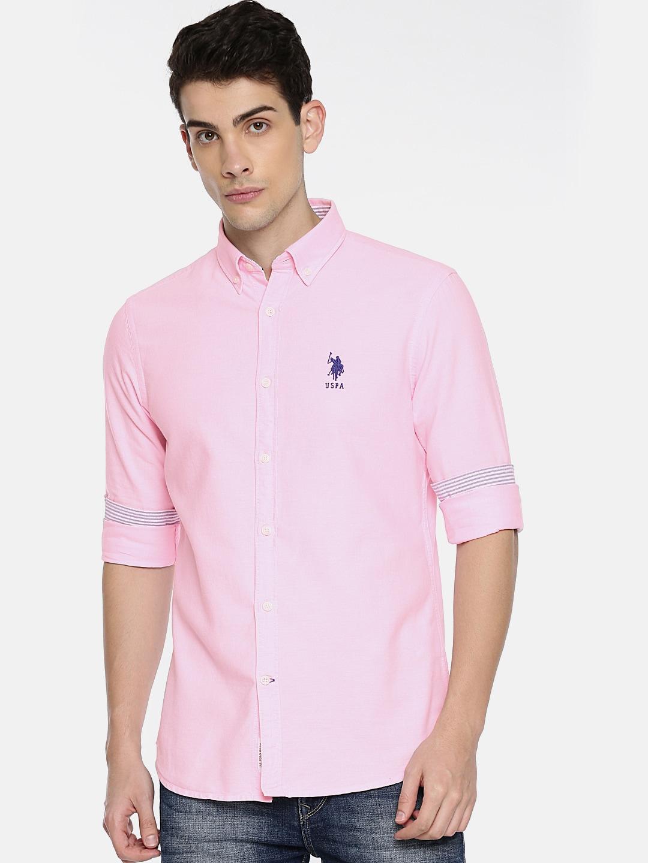Male pink shirt
