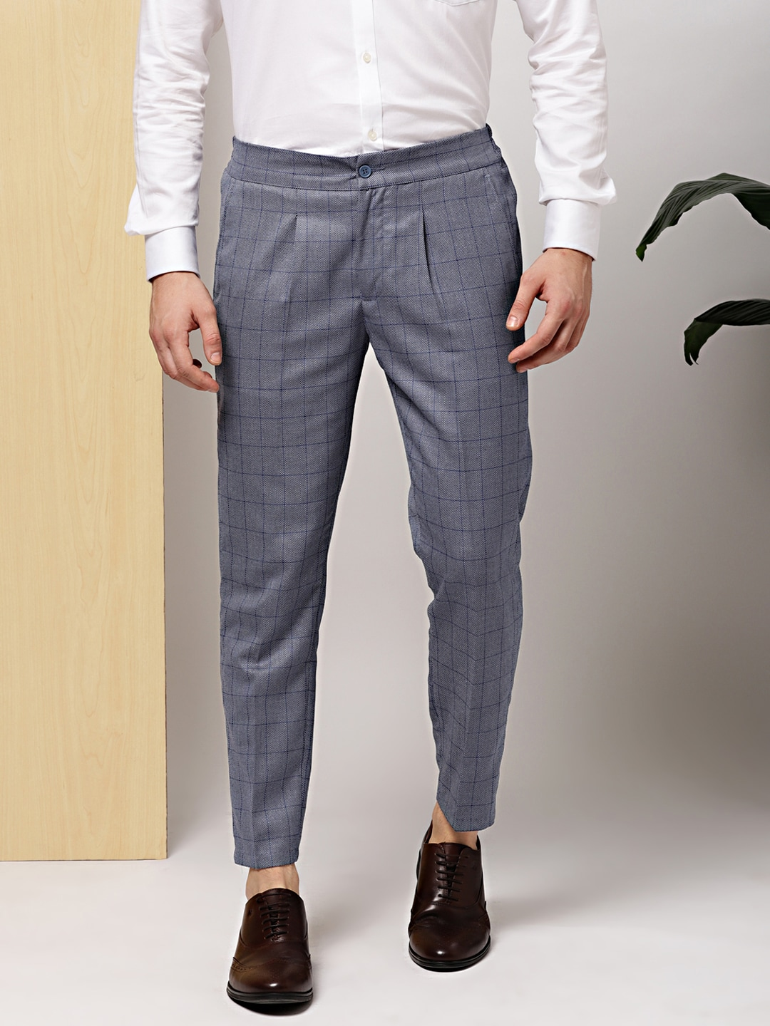1501e302cf0 Pleated Trousers Men - Buy Pleated Trousers Men online in India