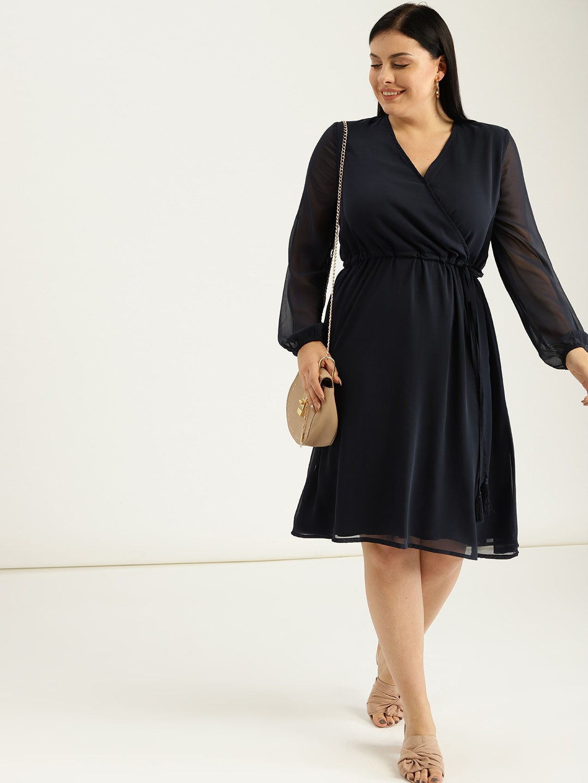 3d2765f6ff Wrap Dress - Buy Wrap Dress online in India