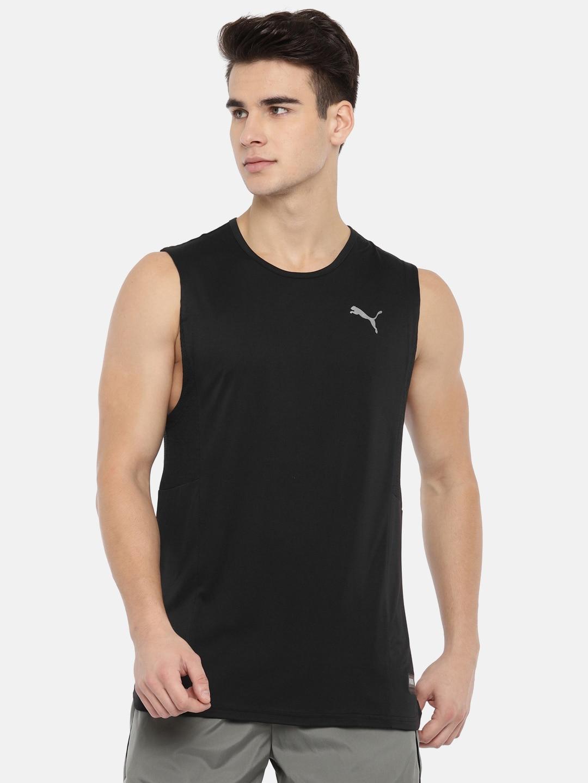 9df704a1d68 Sleeveless Tshirt Puma - Buy Sleeveless Tshirt Puma online in India