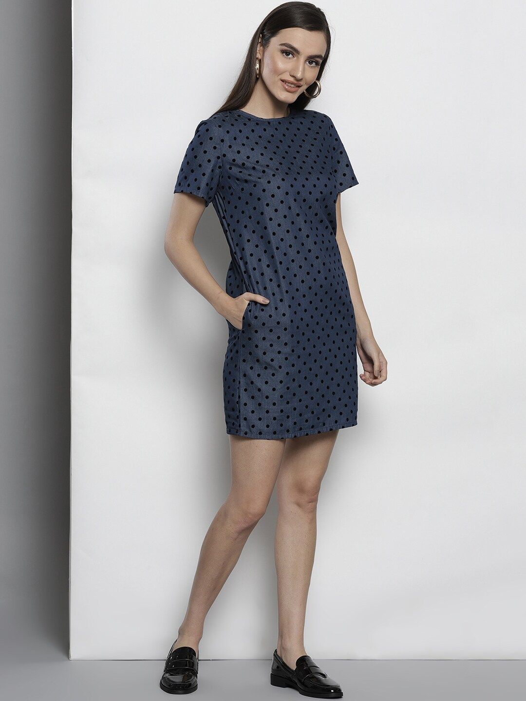 Polka Dots Dresses - Buy Polka Dots Dresses online in India - Myntra 8fabe5ec0b7e