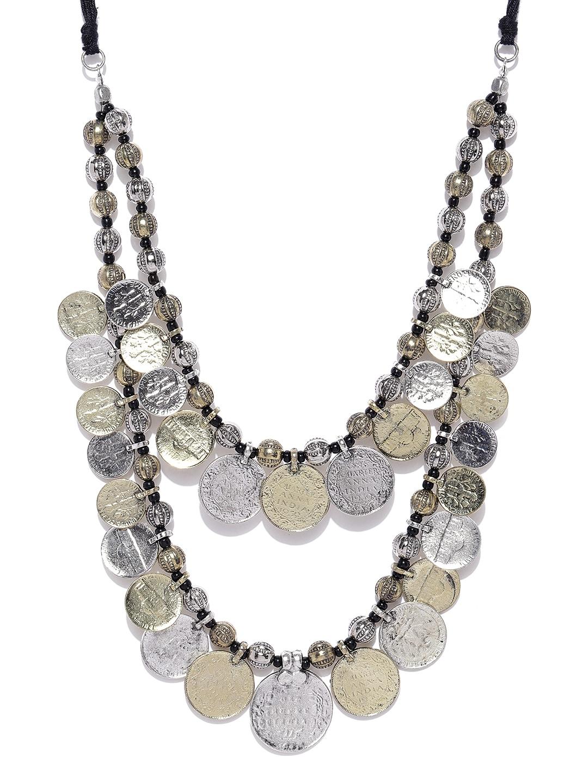 e94232b91dce0 Oxidised Jewellery Necklace Earrings - Buy Oxidised Jewellery Necklace  Earrings online in India