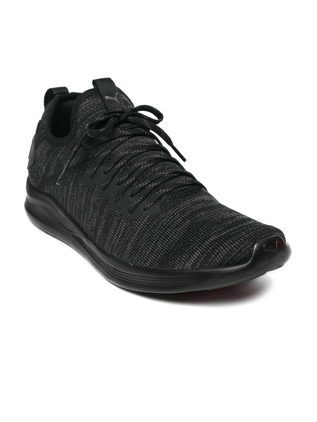 newest collection b38aa ee0a9 Puma Men Black IGNITE Flash evoKNIT Training Shoes