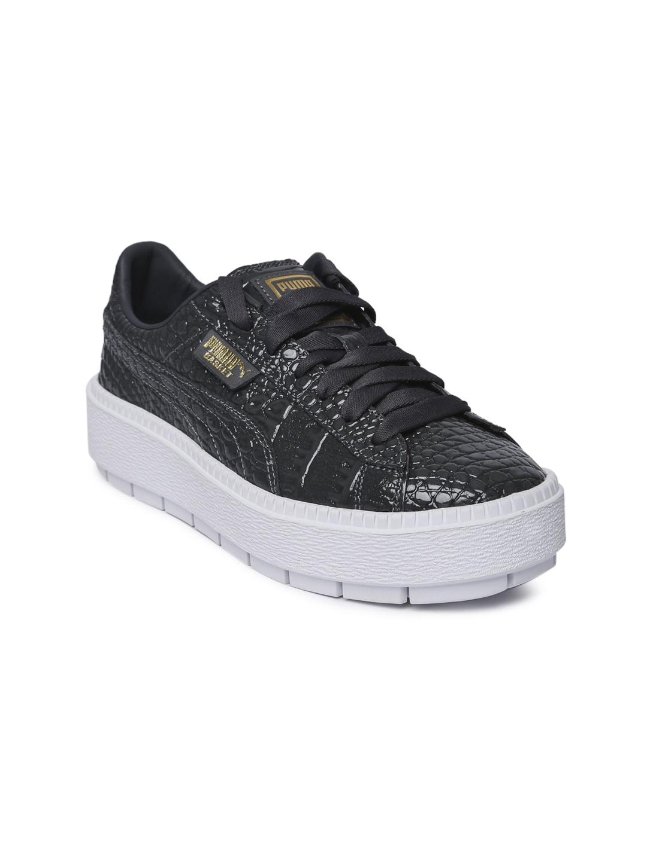 343a66b7ec39 Puma Women Grey Platform Trace ExoticLux Sneakers