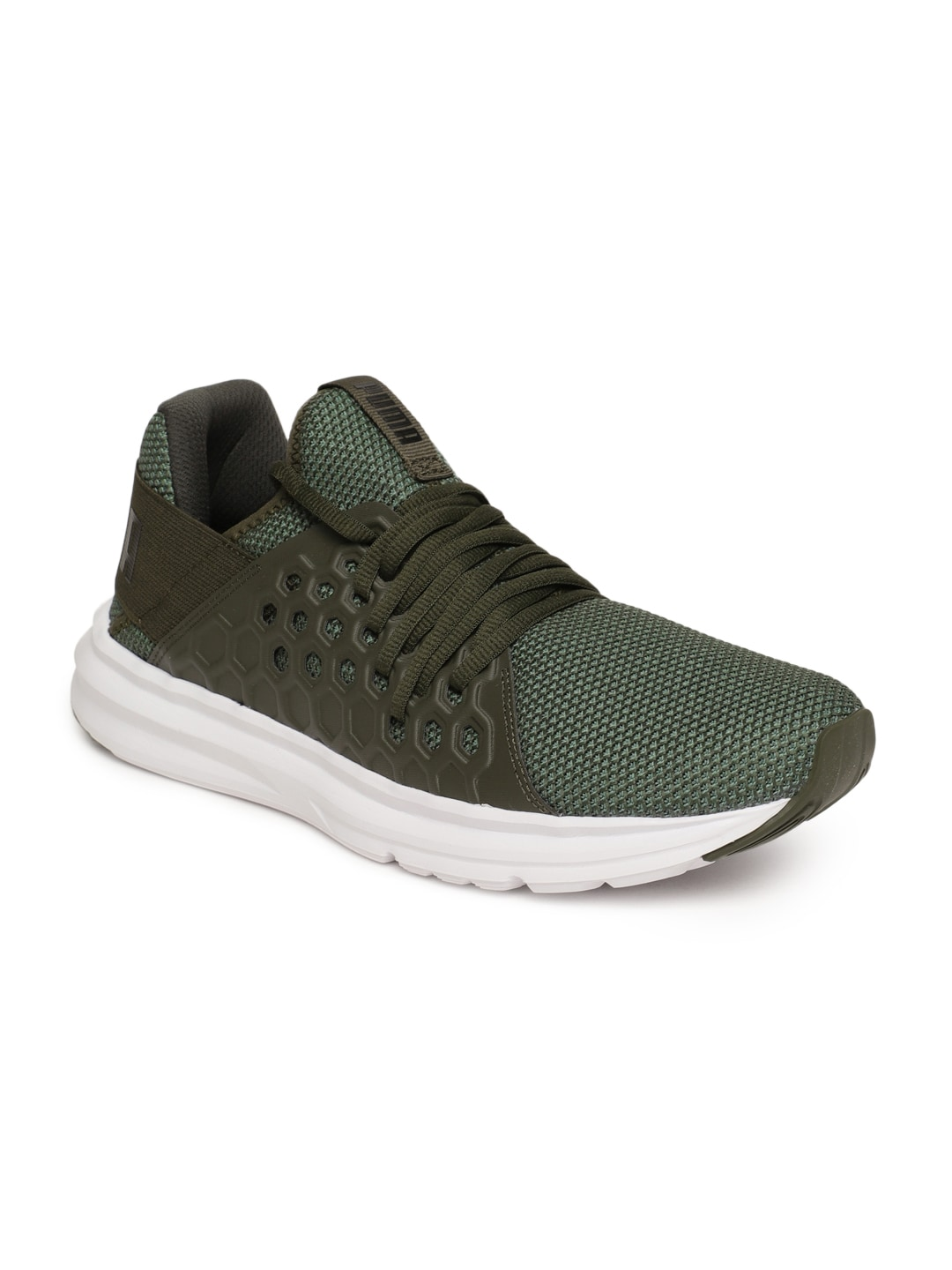 d020ae57ac49 Puma Men Olive Green Enzo NF Training Shoes