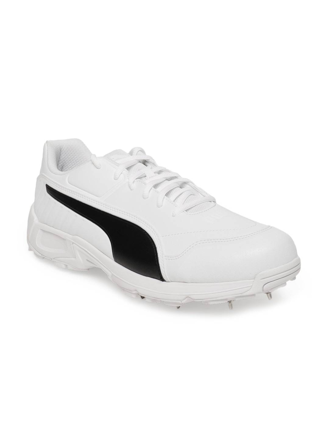 613f4690f00 Puma Men White Evospeed 18.1 vk Cricket Shoes
