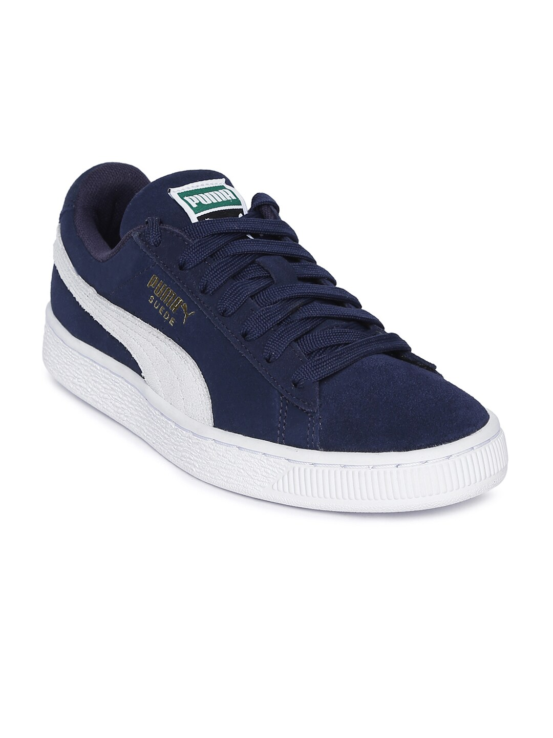 outlet store c2ead 515a7 Puma Unisex Navy Blue Suede Classic + Sneakers