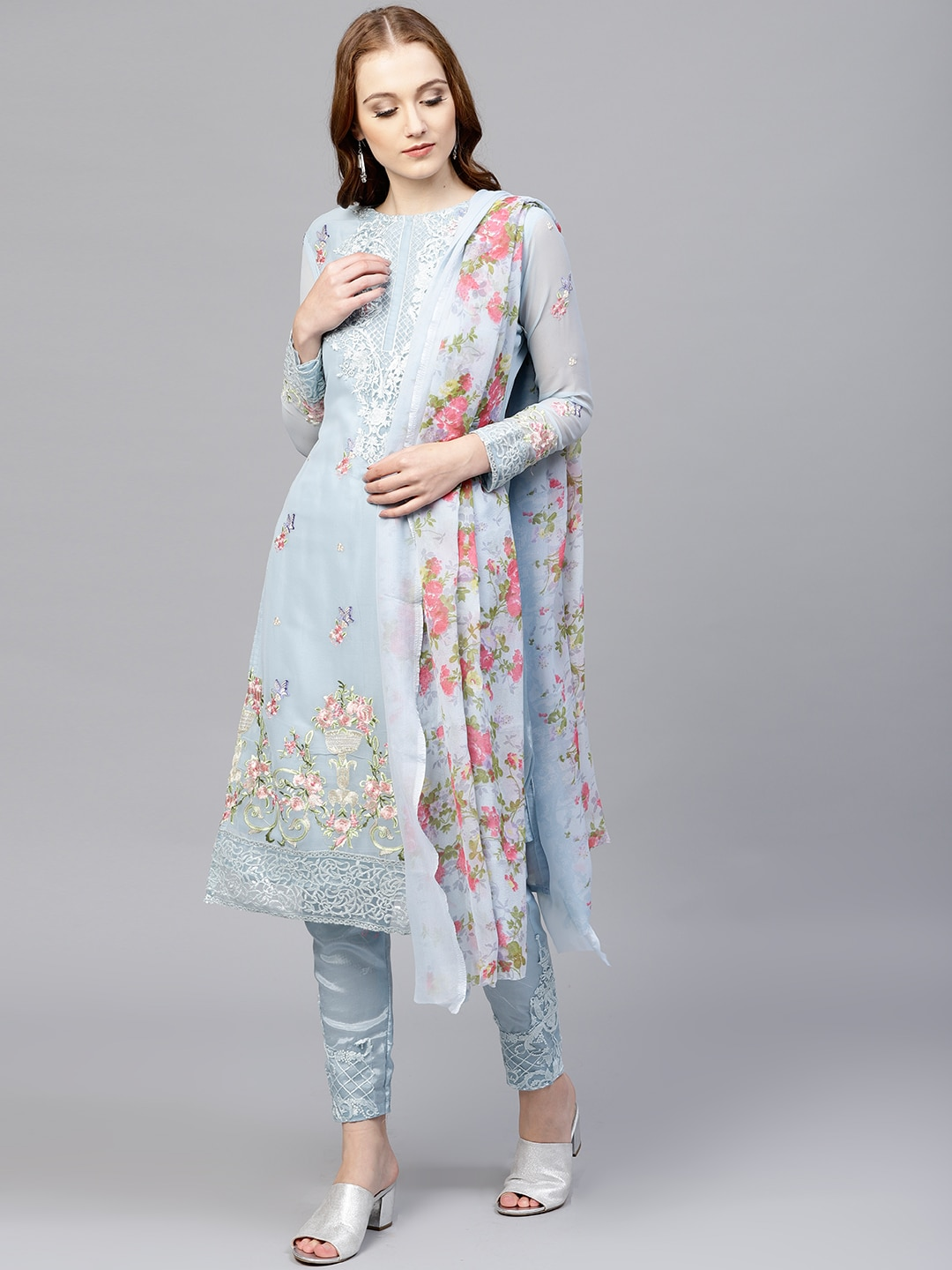 Floral Dress Material Online India Dacc