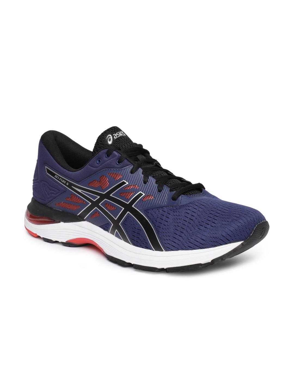 eb38d8c2112 ASICS Men Blue GEL-FLUX 5 Running Shoes