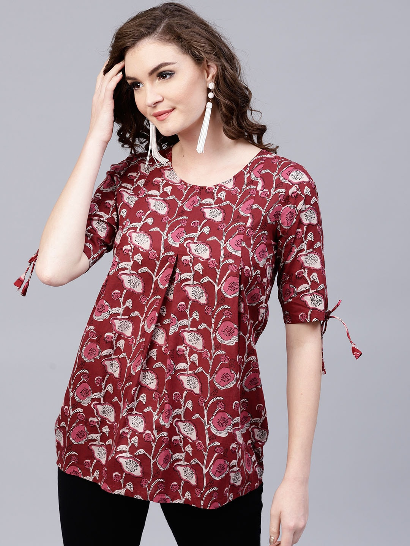 fbf9725061 Tunics for Women - Buy Tunic Tops For Women Online in India