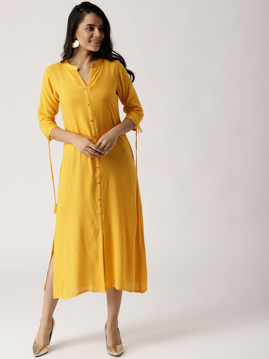 3b64f9c38966 Yellow Dress For Women Dresses Material - Buy Yellow Dress For Women Dresses  Material online in India