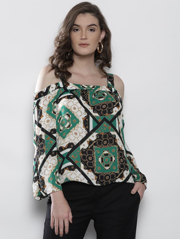 9a3ca0242 Cold Shoulder Tops - Buy Cold Shoulder Tops for Women Online - Myntra