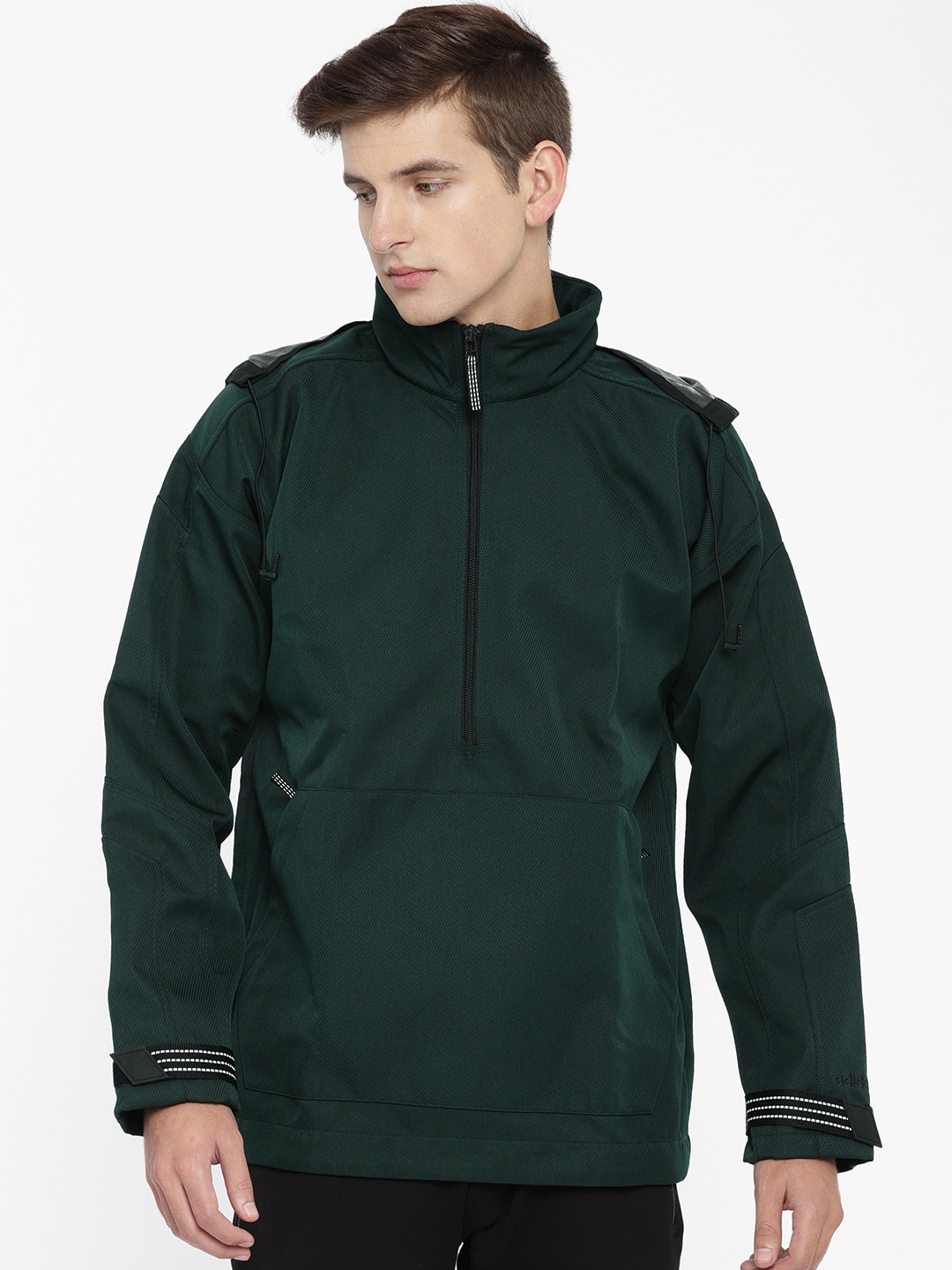 best service bc1e3 514a9 Adidas Solid Jacket - Buy Adidas Solid Jacket online in India