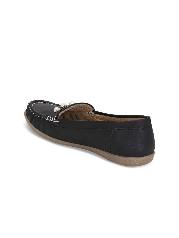 Kielz Women Black Loafers