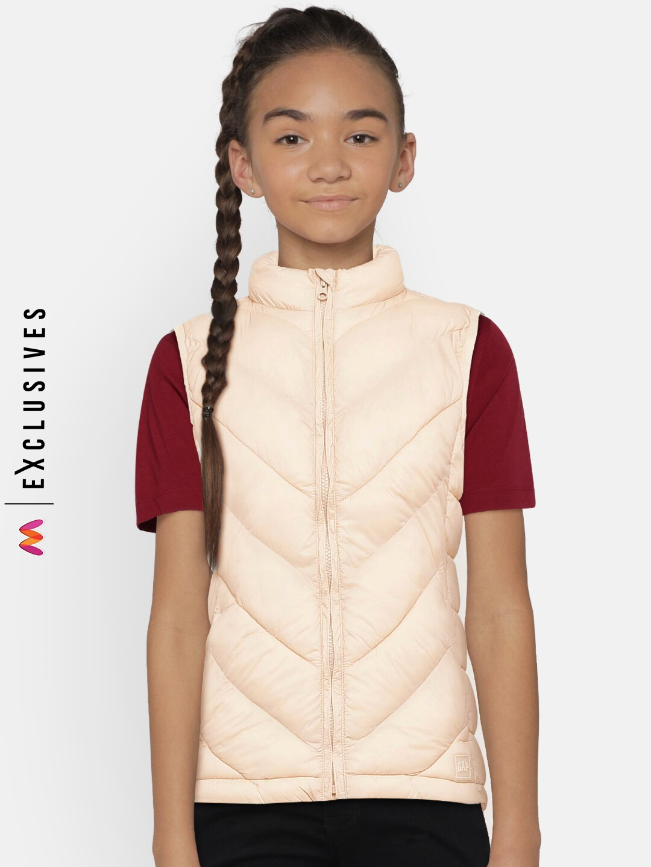 46b228cf5f76a3 Girls Sleeveless Jackets - Buy Girls Sleeveless Jackets online in India
