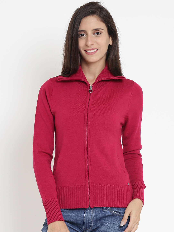 Madame Store Buy Women Clothing At Online Myntra Tendencies Sweater Hoody Green Zipper Olive S