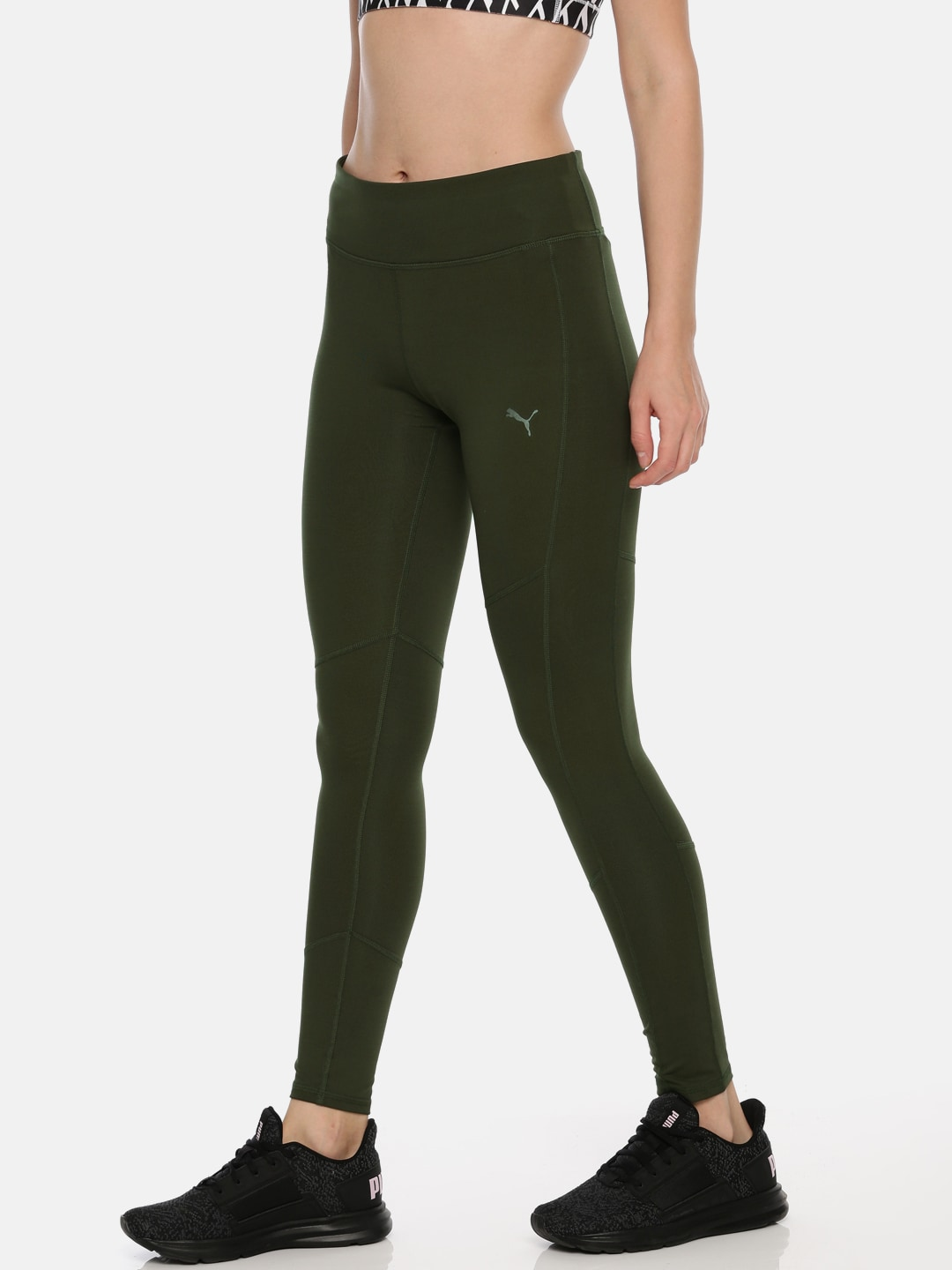 da5a66c2877ca0 Puma Elastane Tights - Buy Puma Elastane Tights online in India