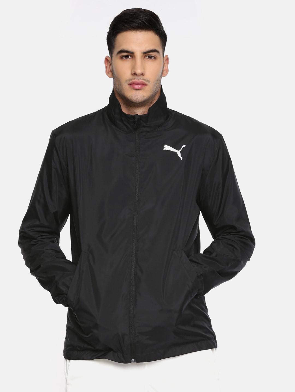 69446fa8ce2f Black Men Puma Jackets - Buy Black Men Puma Jackets online in India