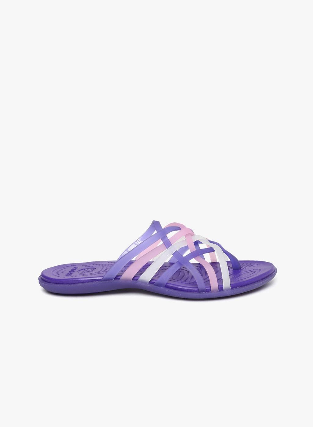 f5b9872e01fd Purple Women Flip Flops Crocs - Buy Purple Women Flip Flops Crocs online in  India - Jabong