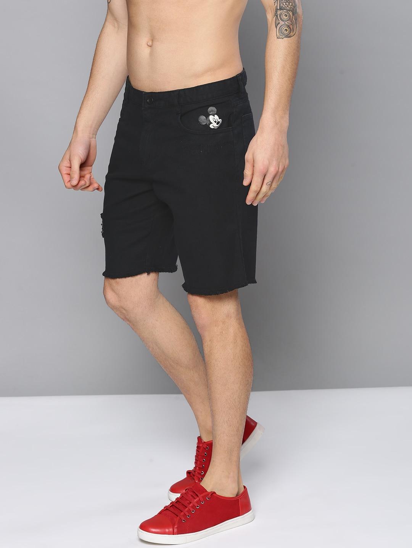 b9e709ad8100 Black Shorts - Buy Black Shorts Online in India at Myntra