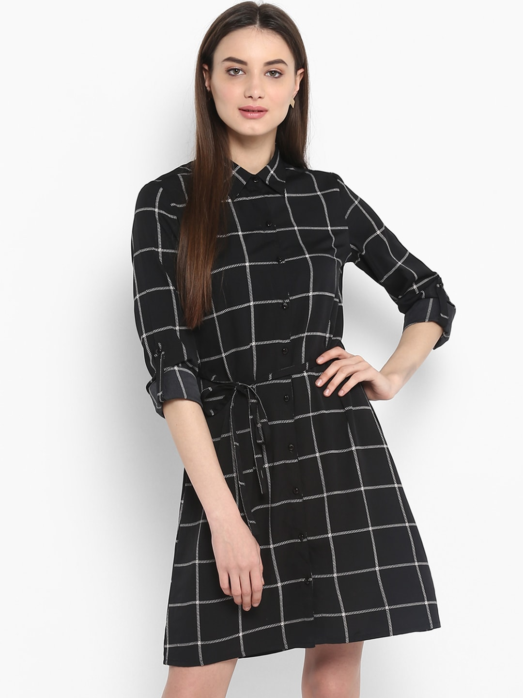 03f506a766 Checked Dresses - Buy Checked Dresses online in India