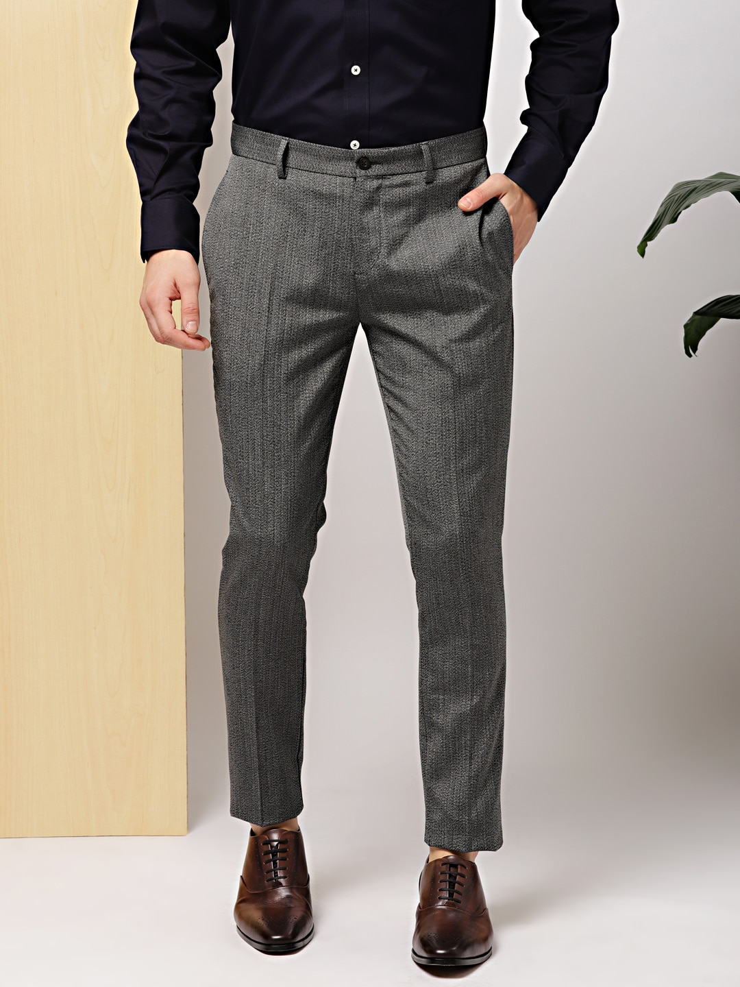 04ab859f0f1 Invictus Formal Trousers - Buy Invictus Formal Trousers online in India