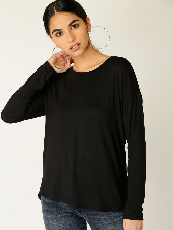 Tshirts Longline - Buy Tshirts Longline online in India 07b075016e4