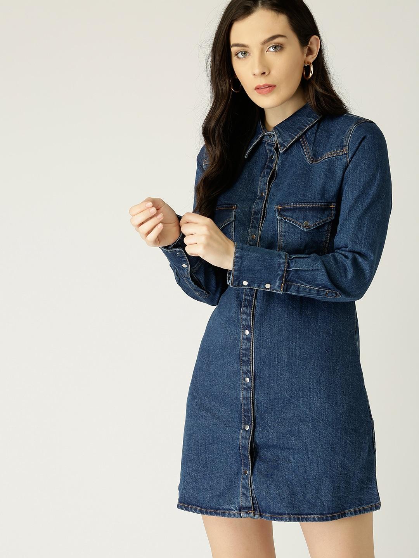4a871de62384 Denim Dresses - Buy Denim Dresses Online in India