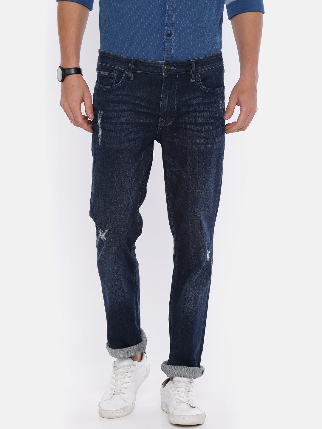 cf1edaea Straight Fit Jeans Men - Buy Straight Fit Jeans Men online in India
