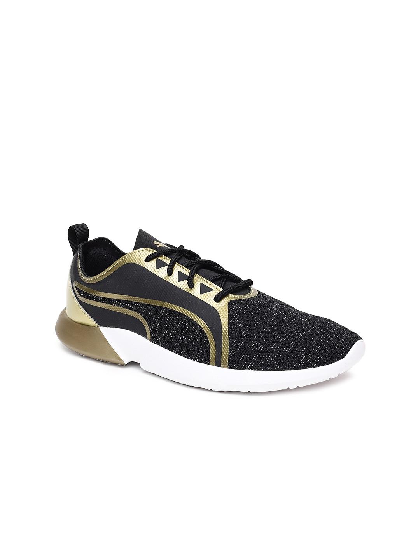 42fa0bb79fb Puma Black Shoes - Buy Puma Black Shoes Online in India