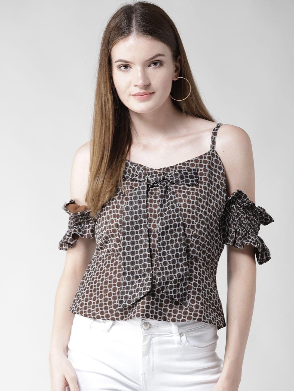a967d33c857e8 Cold Shoulder Tops - Buy Cold Shoulder Tops for Women Online - Myntra