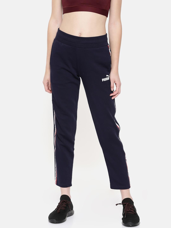 ecb31e304175 Puma Women Bottomwear Track Pants Trousers - Buy Puma Women Bottomwear  Track Pants Trousers online in India