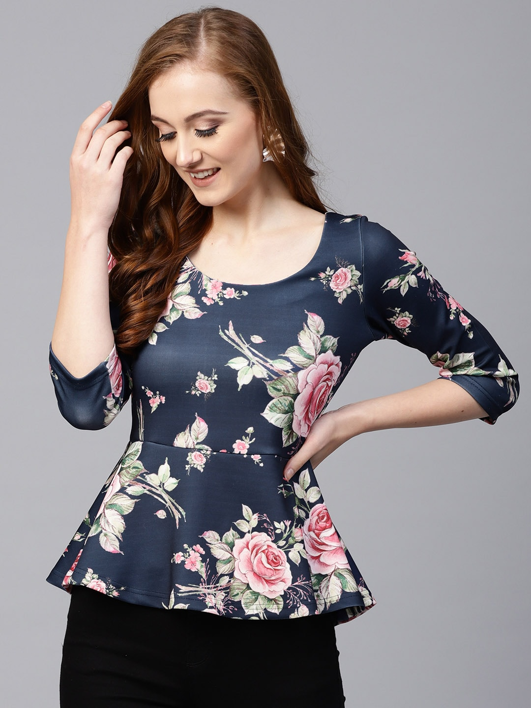 Floral Print Tops Buy Floral Print Tops Online In India