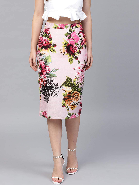 Western Skirt Short Nav Buy Online In India Petal Olive