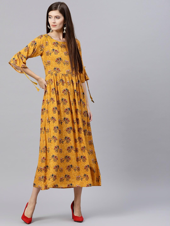 cfd64b3a09e Gerua Dress - Buy Gerua Dress online in India